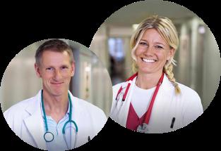 Självklart har alla våra läkare och sjuksköterskor legitimation utfärdad av Socialstyrelsen